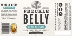 Freckle Belly Label Art