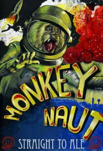 Monkeynaut Can Art
