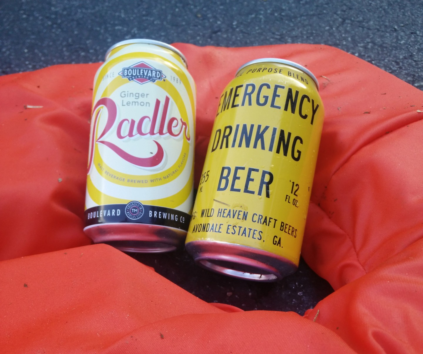 Radler and a Emergency Drinking Beer